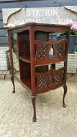 Lovely Victorian Mahogany Shop Display Cabinet (6 of 7)