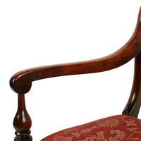 Pair of Georgian Mahogany Arm Chairs (6 of 8)