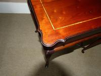 Inlaid Mahogany Occasional / Lamp Table (4 of 5)