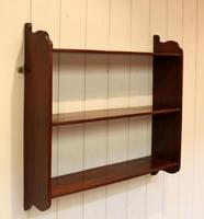 Mahogany Wall Shelves (9 of 10)