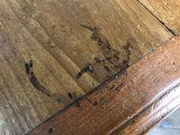 Long Victorian Mahogany Hall Bench (4 of 11)