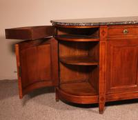 Louis XVI Buffet In Cherry Wood With Marble Top (9 of 9)
