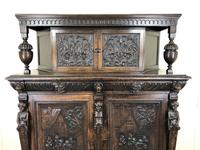 Antique 19th Century Carved Oak Court Cupboard (13 of 24)