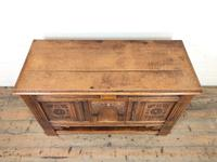 Antique Oak Cupboard with Carved Detail (2 of 11)