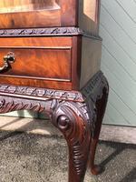 Antique Burr Walnut Display Cabinet (2 of 10)