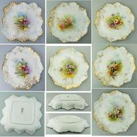 Good Royal Doulton Burslem Hand Painted Dessert Set 19th Century (2 of 12)