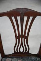 Pair of Antique Chippendale Style Dining Chairs (6 of 12)