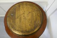 Large Asian Round Brass Table Top Tray (5 of 5)