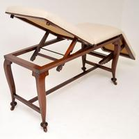 Antique Victorian  Doctors  Bed / Chaise Longue (8 of 12)