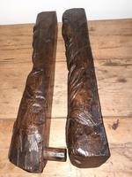 12th-15th Century Medieval Slavic Viking Carved Wooden Pagan Gods (3 of 6)