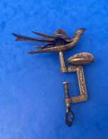 Victorian Gilt Brass Bird Sewing Clamp (6 of 11)
