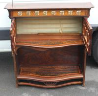 1910's Coromandel Open Bookcase with Mother of Pearl Inset (2 of 6)