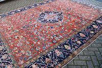 Antique Heriz Carpet 349x265cm (9 of 10)