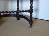 Barley Twist Oak Corner Chair (5 of 7)