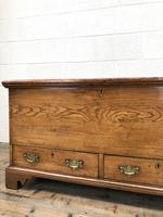 18th Century Elm Mule Chest with Hinged Top (4 of 14)