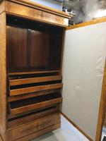 19th Century French Ash Armoire Wardrobe (2 of 9)