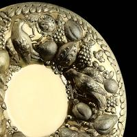 Magnificent Georgian Pair of Solid Silver Gilt Charger / Platter Dishes - George Burrows 1824 (20 of 27)