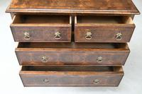 Walnut Oyster Veneer Chest of Drawers (11 of 12)