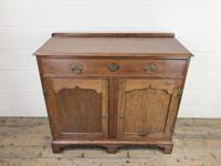 Antique Oak Cupboard on Bracket Feet (2 of 12)