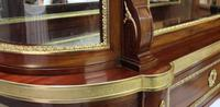 French 19th Century Mahogany Display Cabinet Attributed to Sormani (6 of 9)