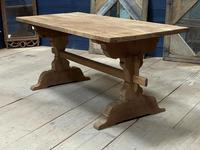 Smaller French Farmhouse Bleached Oak Dining Table (5 of 17)