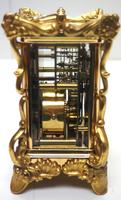 Extremely Rare 8-day Striking Carriage Repeat Feature Waterbury Clock Co c.1880 (10 of 14)