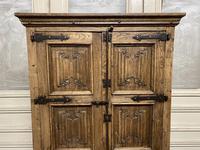 French Gothic Oak Rustic Cupboard or Wardrobe (5 of 22)