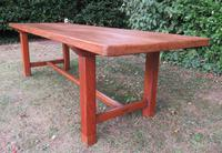 Antique French Elm & Ash Farmhouse Dining Table (8 of 9)