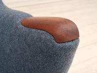 Danish Design 1960s, Restored Armchair, Nevotex Furniture Wool (10 of 14)