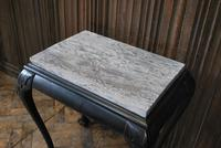 Antique Ebonised Occasional Table (2 of 5)