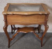 Edwardian Mahogany Bijouterie Table / Display Table (5 of 10)