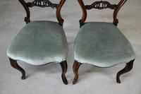 Pair of Victorian Rosewood Dining Chairs (3 of 11)