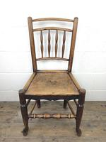 Set of Four 19th Century Elm Country Chairs (6 of 13)