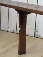 Pair of Antique Oak Benches (5 of 7)
