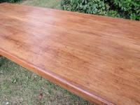 Antique French Elm & Ash Farmhouse Dining Table (7 of 9)