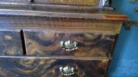 Scottish Scumbled Pine Grained Kitchen Crofters Cabinet (3 of 5)