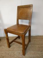 Yorkshire ( Lizardman) Oak Table & 4 Chairs (6 of 13)
