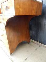 Dressing Table, Art Deco, Walnut (8 of 11)