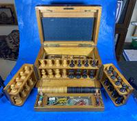 Victorian Pine Partially Fitted Games Box (15 of 32)