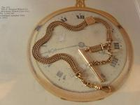 Antique Pocket Watch Chain 1890s Victorian 12ct Rose Gold Filled Albert With T Bar (3 of 12)