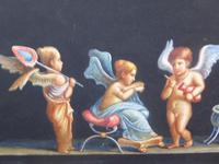 Watercolour Mischievous Putti Listed Artist E P Fenderico (3 of 14)