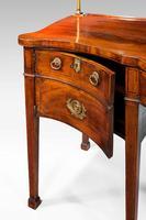 George III Period Serpentine Sideboard (7 of 8)