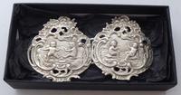 Victorian Maternity 1898 Hallmarked Solid Silver Nurses Belt Buckle (8 of 8)