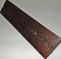 Carved Fruitwood Freizland Mangelplack, Dated 1720 (5 of 7)