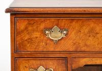 Georgian Style Walnut Kneehole Desk (3 of 10)