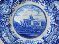 """Wedgewood Blue & White """"Old Capitol Building """"Souvenir  Plate (3 of 4)"""