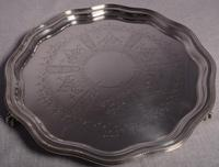 A Fine Edward VII Silver Salver by John & William Deakin, Sheffield, 1903