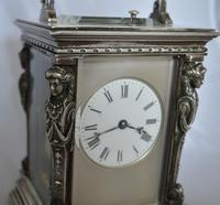 French Caryatids Repeating Carriage Clock (6 of 7)