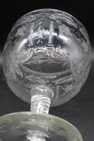 Massive and Rare Mid 19th Century Cut and Etched Goblet (5 of 6)