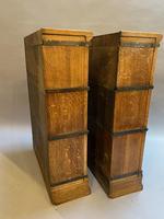 Pair of Globe Wernicke Oak Bookcases (8 of 16)